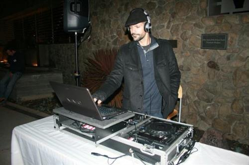 DJ Lee Dyson came all the way up from Hollywood to spin for us