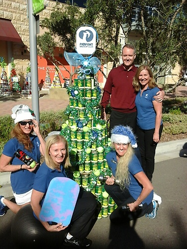 Completed Can Tree!