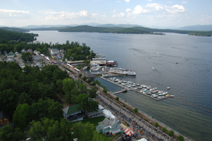 Arial View of Winnipesaukee