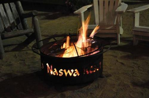 Enjoy a campfire in the evening with friends and family.