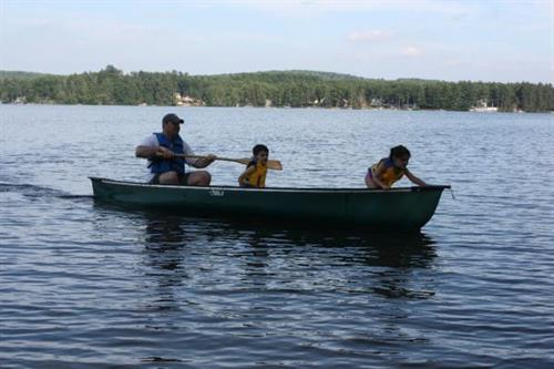 Complimentary Canoe Rentals