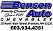 Benson Auto Company Inc