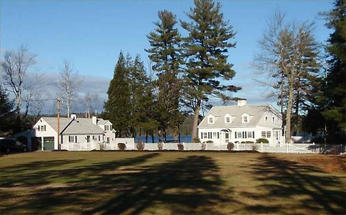 House on Aiken Point, Webster Lake, Franklin, New Hampshire.