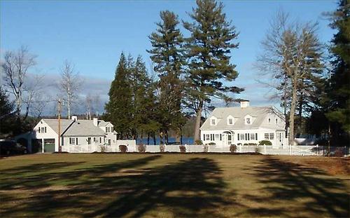 House on Aiken Point, Webster Lake, Franklin, New Hampshire.