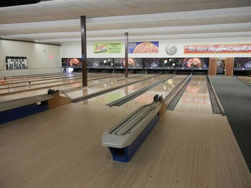 Our newly refurbished bowling center offers 20 lanes of fun and is fully sanctioned!