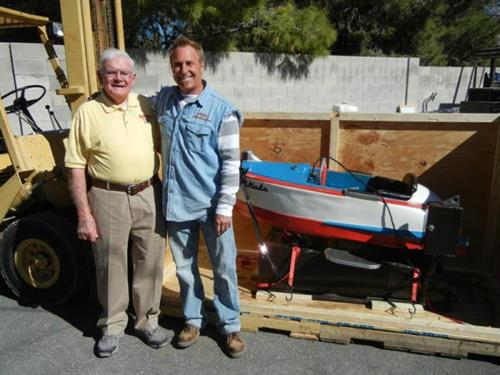 We've been featured on movies and TV. Here's our founder, Bob, with Rick Dale of American Restoration.