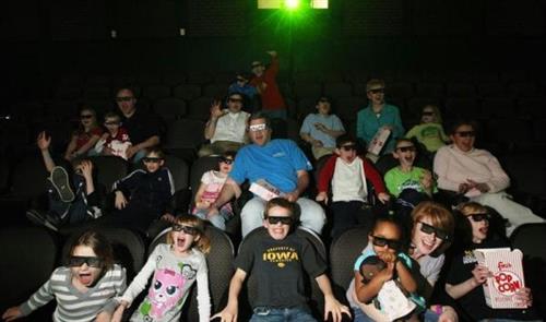 3D/4D Large-format Digital Theater