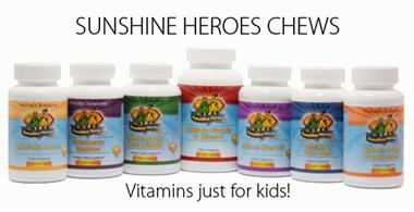 Sunshine heroes provide the support critical for optimal growth and development.