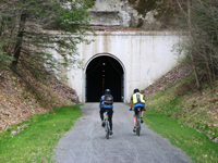 Biking the Great Allegheny Passage and surrounding trails are a favorite past-time of Lodge guests.