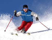 Take advantage of our Ski Package option.
