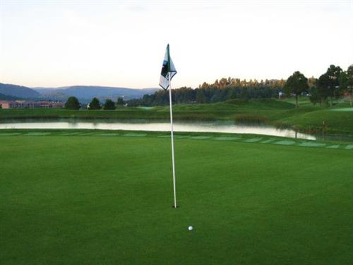 We offer great rates for rooms including golf! Ask about our golf packages.