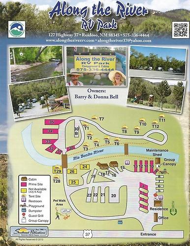 Twin Spruce Rv Park In Ruidoso Nm
