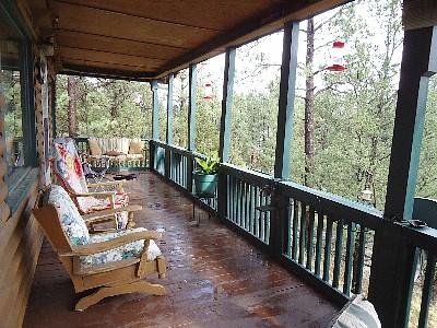 Sandy's Cottage Deck