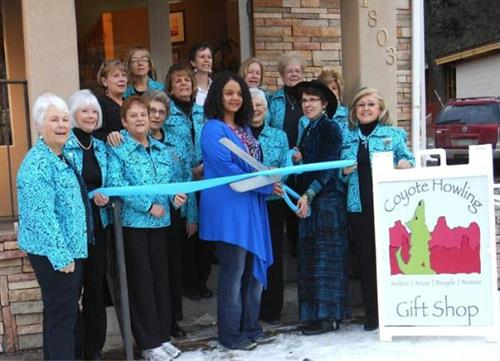 Grand Re-Opening and Ribbon-Cutting at new location, 1803 Sudderth, on 31 January