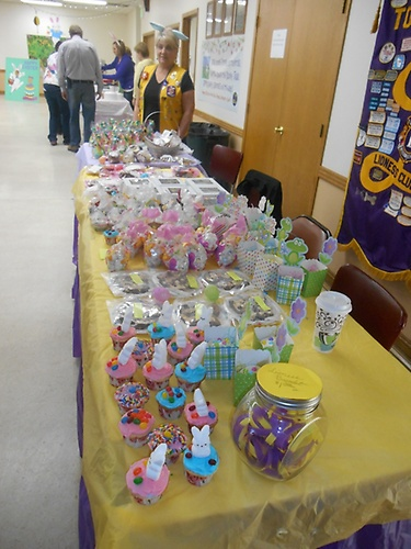 Bake sale 2015 Breakfast with the Easter Bunny