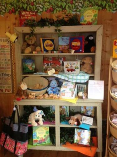 Inside of Kinner Korner Children's Shop