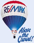 RE/MAX Balloon-Above the Crowd