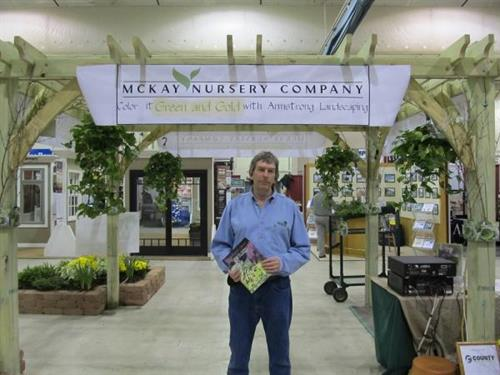 Show season! Love meeting, greeting and talking about landscaping.