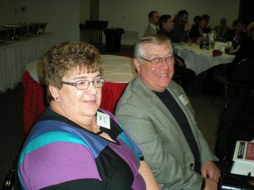 Ron and Nancy Meyer from EZE Storage / U-Haul.