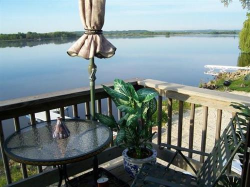 Deck view of Lake Tomah