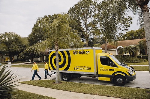 Helicon teams respond quickly and come prepared to handle your emergency situation