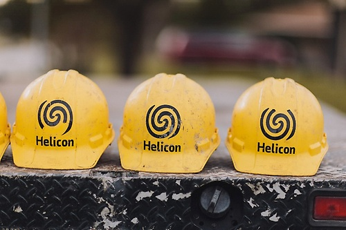 Helicon strives to exceed everyones expectations.
