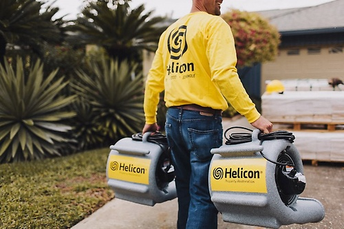 Helicon has all the equipment on site to manage commercial and residential jobs.