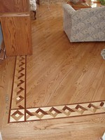 Wood Floor Deco Boarder