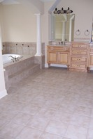 Tile Floor and Tub/Wall Surround