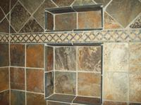 Slate Shower Wall Niche