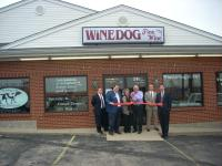 Ribbon cutting for Wine Dog (451 Ohio Pike)