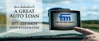 One of our billboard layouts. This one for F&M Bank and Trust Company.