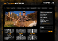 Pike County Archery's website by Poole Communications.