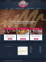 Our website design for Fiddlesitks Restuarant.