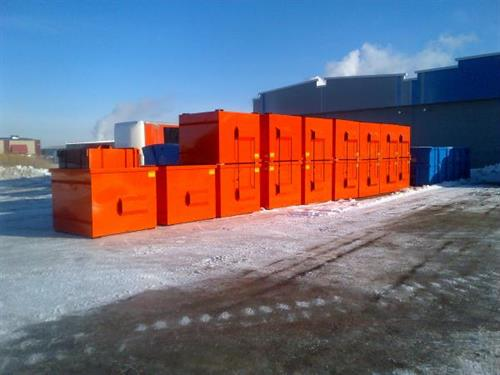 Brand New Front Load Bins