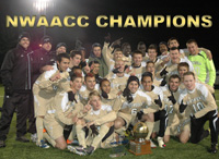 2010 NWAACC Soccer Champions