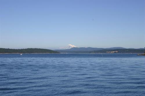 Mt. Baker from the back of the Expeditions
