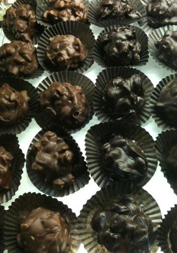 Large assortment of delicious gourmet chocolates!