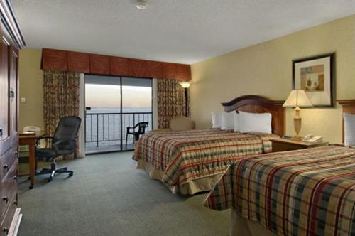Premium, waterfront room with two queen beds