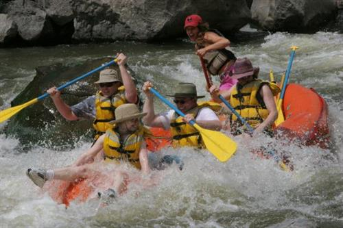 Rafting the Sol Duc