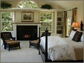 Hideaway on Quail Lake private cottage -- perfect for honeymoon or anniversary.