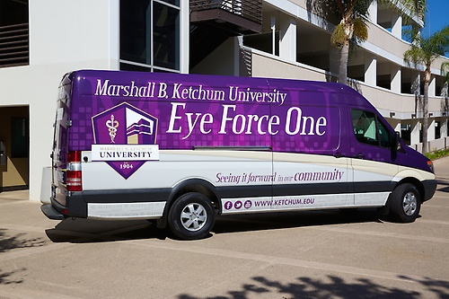 Eye Force One Mobile Van
