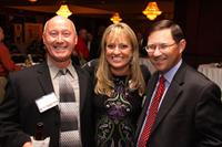 Dave Collins, OE, Sumer Rex, DMS, and John Diederich, Peoples Bank at the Influential Women Awards