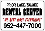 Prior Lake/Savage Rental Center / Victory Event Rentals