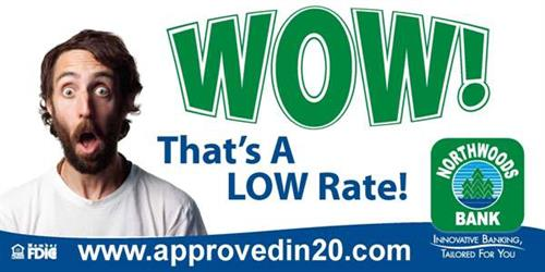Ridiculously LOW Rates - refinance online @ www.approvedin20.com