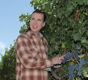 Winemaker and store owner Gina Gallo loves what she does