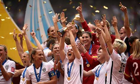 Sports: USA beats Japan in FIFA Women's World Cup