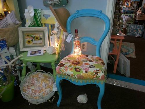Unique vintage furniture & art finds