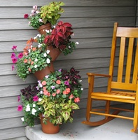 Large Incredible Plant Stand with Rocker - To Order the Plant Stand: Click on ''Highlights'' then ''Plant Stands''