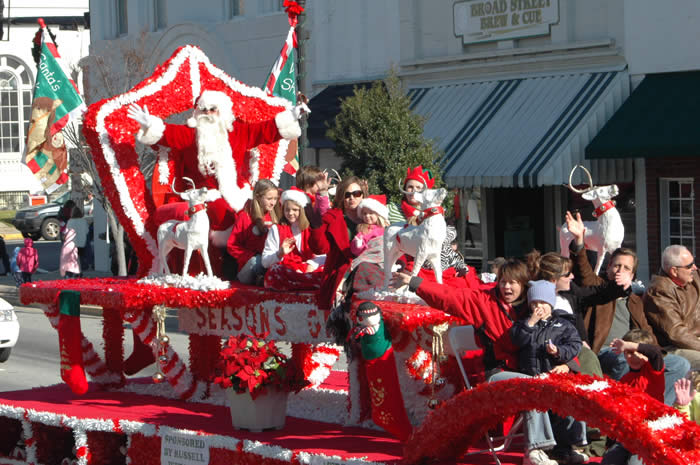 Christmas Parade Kershaw County Chamber Of Commerce Sc